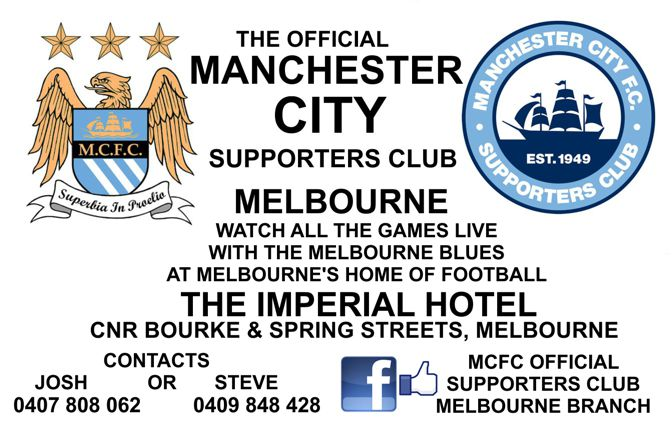 Melbourne Blues Card SMALL