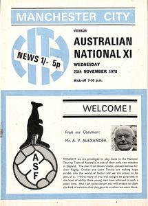 australia 1970 to 71 prog